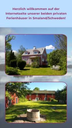 Vorschau der mobilen Webseite www.smaland-villa.de, Smaland-Villa