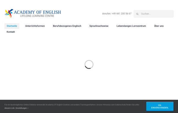 Vorschau von englisch-oldenburg.de, Englisch Conversation and Culture