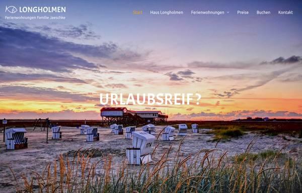 Vorschau von www.lillholmen.de, Ferienwohnungen Familie Jaeschke