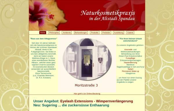 Vorschau von www.naturkosmetikpraxis.de, Naturkosmetikpraxis Grusdat