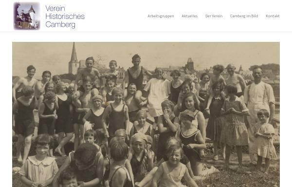 Vorschau von www.verein-historisches-camberg.de, Verein Historisches Camberg