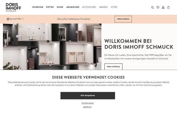 Vorschau von www.dorisimhoff.de, Doris Imhoff Schmuck