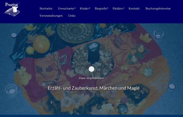 Vorschau von www.prestino.de, Hubmann, Hans-Jörg - Prestino