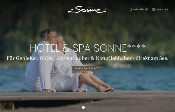 Vorschau von www.sonne.info, Ferienhotels Sonne Klopeiner See