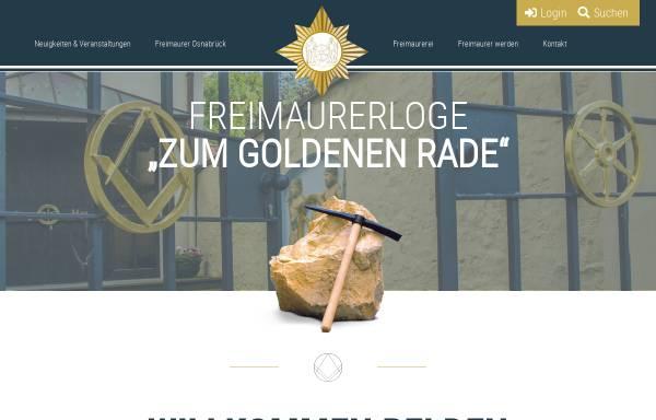 Vorschau von www.freimaurerloge-osnabrueck.de, Freimaurerloge Zum Goldenen Rade im Orient Osnabrueck
