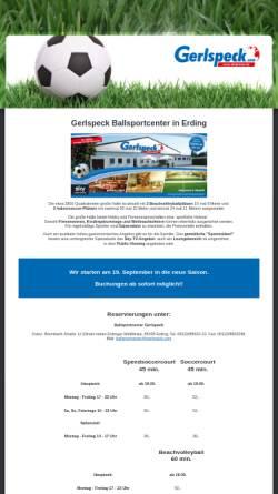 Vorschau der mobilen Webseite www.gerlspeck.com, Sport und Mode Gerlspeck GmbH