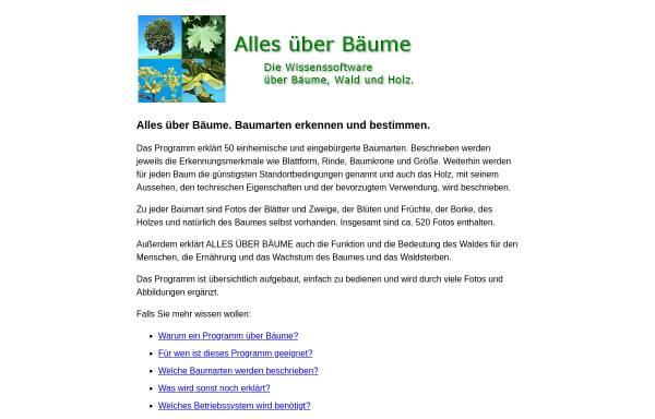 Vorschau von www.baumarten.info, Alles über Bäume