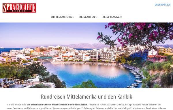 Vorschau von www.sprachcaffe-reisen.de, Sprachcaffe Reisen