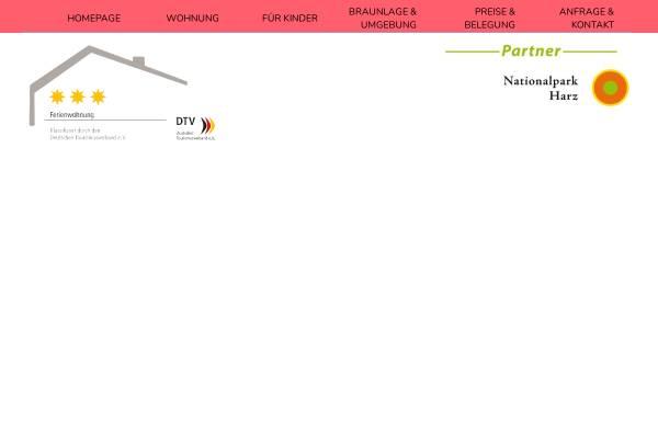 Vorschau von www.ferienwohnung-waldzwerge.de, Ferienwohnung Waldzwerge