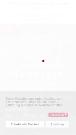 Vorschau der mobilen Webseite miro-web.de, Internetagentur MiRo-web