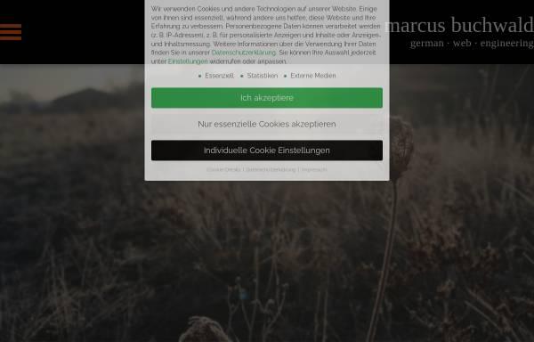 Vorschau von www.marcus-buchwald.de, Markus Buchwald