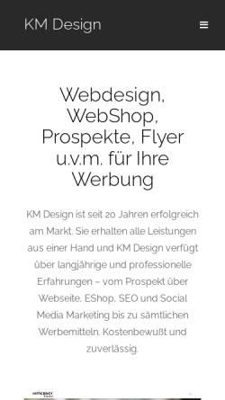 Vorschau der mobilen Webseite www.kugeldesign.de, MedienDesign, Klaus Kugelmeier