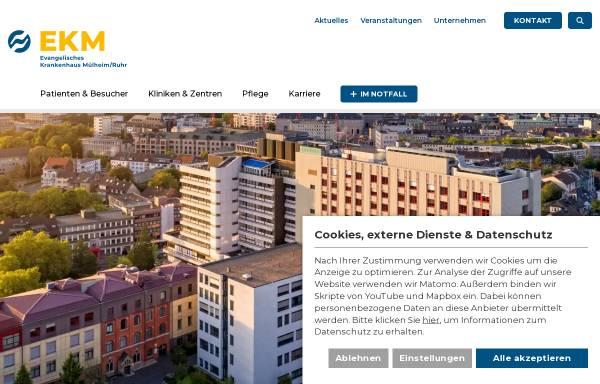 Evangelisches Krankenhaus Mülheim Ad Ruhr Gmbh In Mülheim An Der