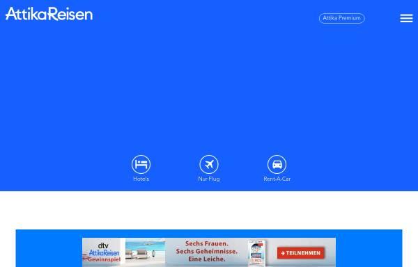 Vorschau von www.attika.de, Attika Reisen GmbH & Co. KG