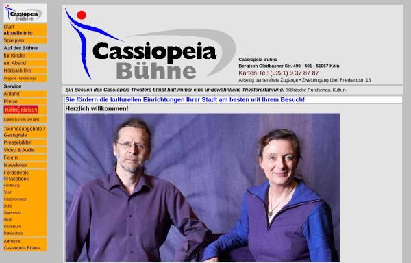 Vorschau von www.cassiopeia-buehne.de, Köln, Cassiopeia Bühne