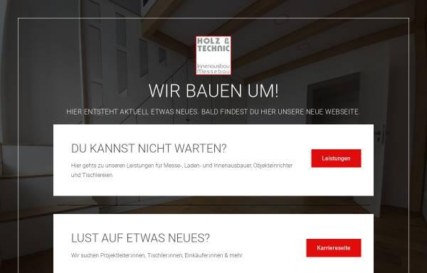 Vorschau von holzundtechnic.de, Holz & Technic GmbH