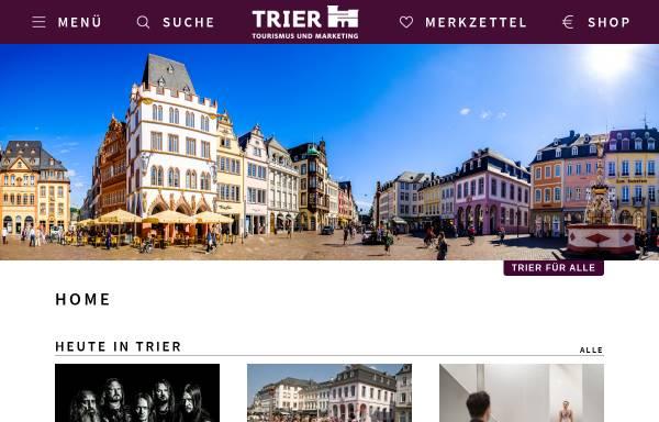 Vorschau von trier-info.de, Tourist-Information Trier