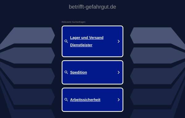 Vorschau von www.betrifft-gefahrgut.de, Betrifft-Gefahrgut