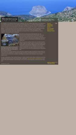 Vorschau der mobilen Webseite www.monem.naturemap.de, Monemvasia [Jörg Wenke]