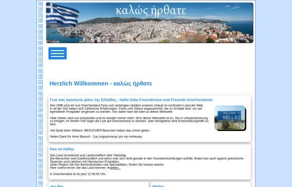 Vorschau von www.in-griechenland.de, Urlaub in Griechenland [Ela und Michael Kulla]