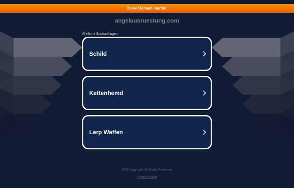 Vorschau von angelausruestung.com, Angelausruestung.com