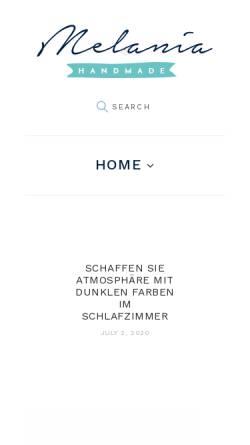 Vorschau der mobilen Webseite www.praxis-innere-balance.de, Andrea Bolte