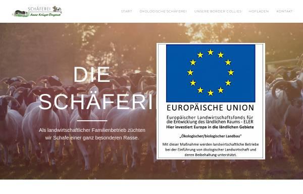 Vorschau von www.die-schaeferin.de, Degenerhof Melle - Anne Krüger-Degener