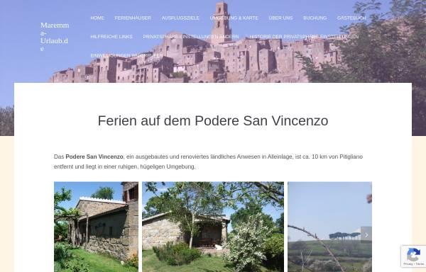 Vorschau von www.maremma-urlaub.de, Maremma-Urlaub