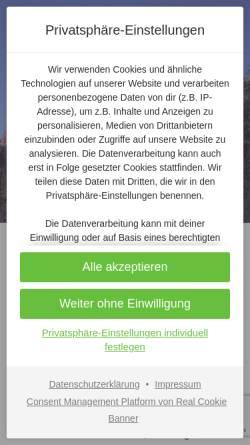 Vorschau der mobilen Webseite www.maremma-urlaub.de, Maremma-Urlaub