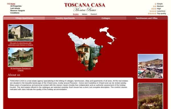 Vorschau von www.toscana-casa.com, Toscana Casa