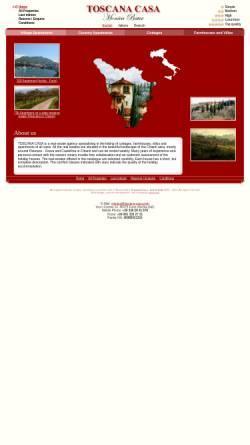 Vorschau der mobilen Webseite www.toscana-casa.com, Toscana Casa