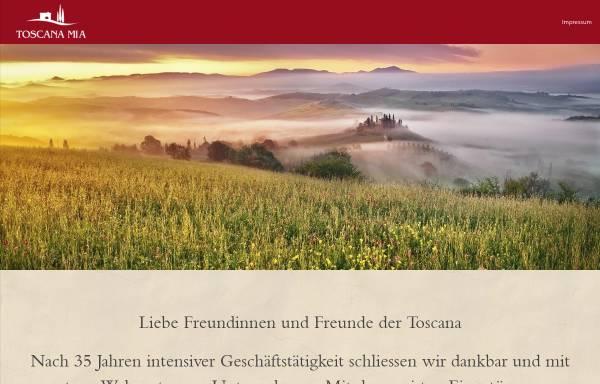 Vorschau von toscana-mia.ch, Toscana-mia GmbH