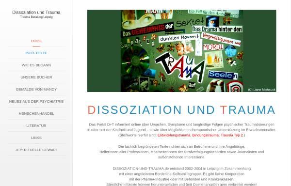 Vorschau von www.trauma-beratung-leipzig.de, Trauma Beratung Leipzig