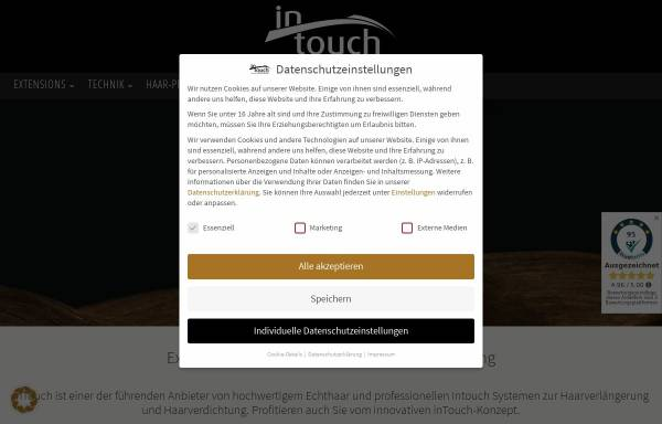 Vorschau von www.intouch-extensions.de, InTouch GmbH