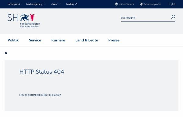 Vorschau von www.schleswig-holstein.de, Kulturportal Schleswig-Holstein