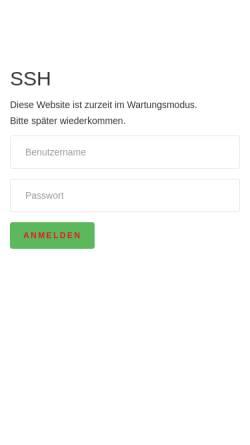 Vorschau der mobilen Webseite ssh-saengerbund.de, Sängerbund Schleswig-Holstein e.V.