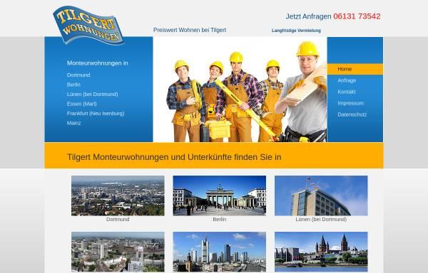 Vorschau von www.personalwohnungen.de, Monteurwohnungen und Unterkünfte