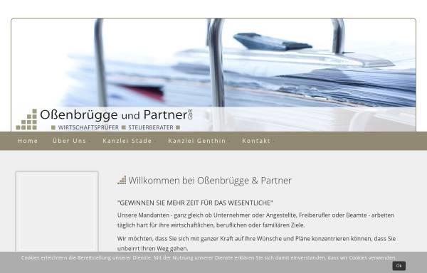 Vorschau von www.ossenbruegge.de, Steuerberatungskanzlei Oßenbrügge und Partner GbR