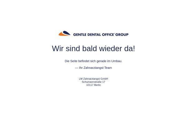 Vorschau von www.zahnarztangst.de, Zahnarztangst.de