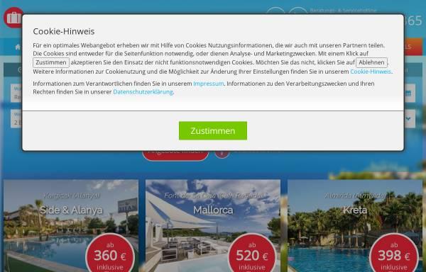 Vorschau von www.engel-reisen.de, Engel Reisen GmbH & Co. KG