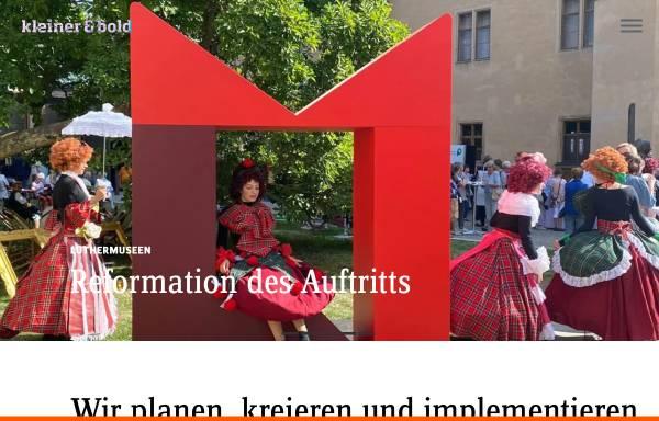 Vorschau von www.kleinerundbold.com, Kleiner und Bold GmbH