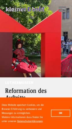 Vorschau der mobilen Webseite www.kleinerundbold.com, Kleiner und Bold GmbH