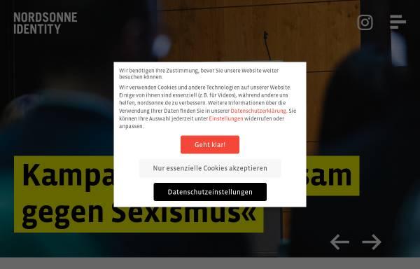 Vorschau von www.nordsonne.de, Nordsonne Identity GmbH
