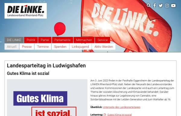 Vorschau von www.dielinke-rhlp.de, Die Linke. Rheinland-Pfalz