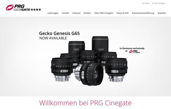 Vorschau von www.cinegate.de, Cinegate GmbH