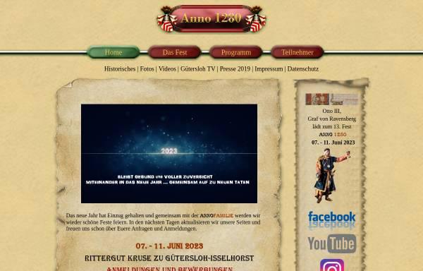 Vorschau von www.anno-1280.de, Anno 1280