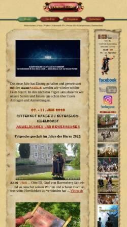 Vorschau der mobilen Webseite www.anno-1280.de, Anno 1280