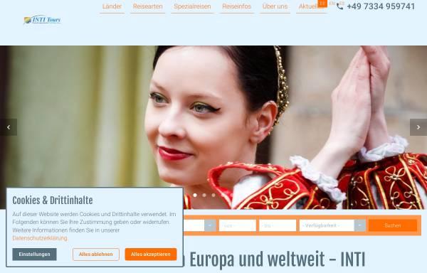 Vorschau von www.inti-tours.de, Inti Tours e.K.