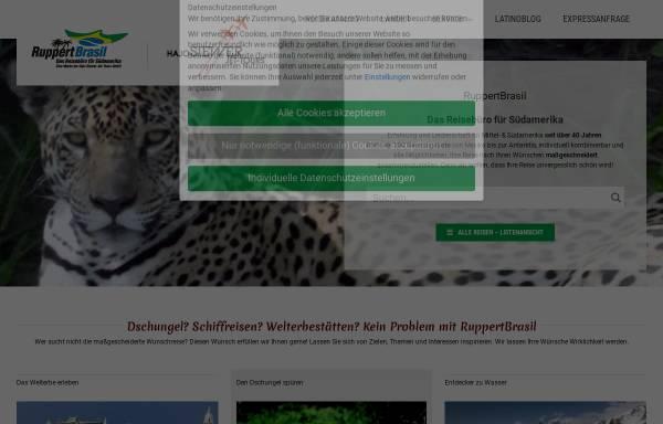 Vorschau von www.ruppertbrasil.de, RuppertBrasil