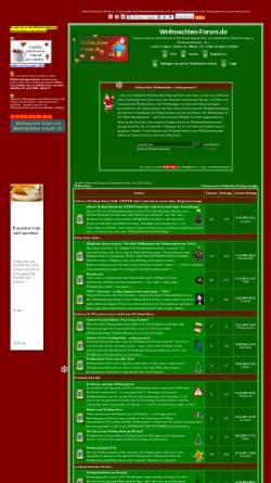Vorschau der mobilen Webseite www.weihnachten-forum.de, Weihnachten-Forum.de